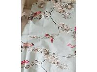 King size dunelm bed set & curtains