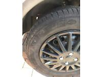 Transit connect Michelin tyres x4