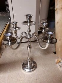 Candelabra, 5 tier perfect for the Christmas table