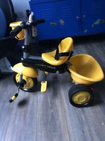 Trike - Smart Trike Bee - including chair seat, canopy and handle to push along