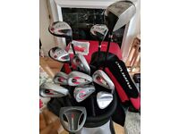 Orlimar Full Set of 12 Golf Clubs with brand new bag, balls and tees
