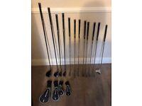 Dunlop Tour Golf Clubs and Bag