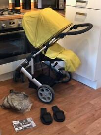 Mamas & Papas Zoom pushchair in lime. £90 ONO