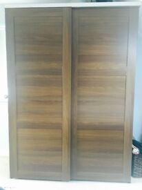 Ikea wardrobes and bedside cabinet