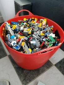 Used lego pieces 11 kg