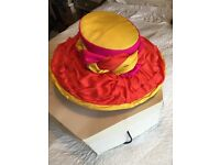 Stand Out Bright Coloured Special Occasion Hat