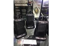 Icom 2 way radios BC-193 walkie talkies x3