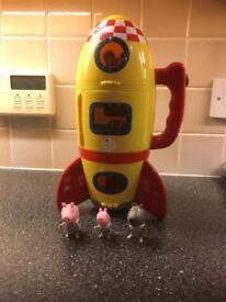 Peppa Pig Spaceship Rocket Toy