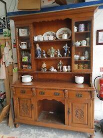 Antique wooden dresser