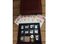 ROYAL MINT GOLDEN COLLECTION COINS