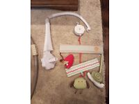 Musical baby cot mobile