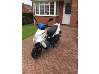 50cc moped scooter Lexmoto echo 16 plate