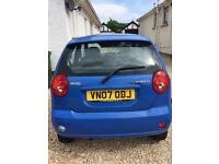 *REDUCED PRICE*07 Chevrolet Matiz. £1000ono. MOT until April 2017. Great First Car. Cheap to Run.