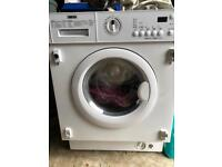 Zanussi intergrated washer dryer