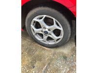 "17"" Ford Mondeo Rims with 205/552R16 91W Tyres"