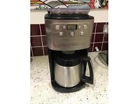 Cuisinart Coffee Machine Grind and Brew Plus Automatic 12-Cup Coffee Machine