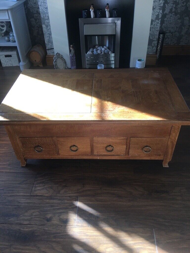 official photos b60e0 b6c79 Barker & stonehouse Storage coffee table | in Thornaby, County Durham |  Gumtree