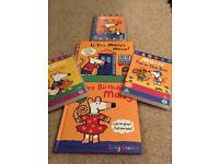 Maisy books and DVD's