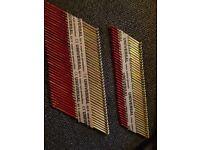 Nailgun Supply Ring Shank Nails 40packs 2mm X 50mm and 30mm X 90mm