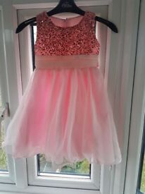 Beautiful sparkly party dresses and a ballet outfit