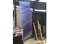 New Vistalux Corrugated PVC Clear Roof Sheets 2x7ft 3x9ft Surplus
