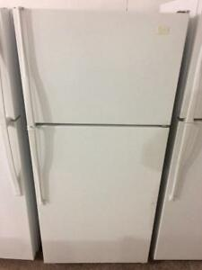 "Whirlpool 28"" Apartment Size Fridge, Free Warranty"