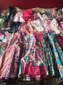 Massive girls clothes bundle age 6-9