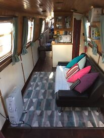 Narrowboat for rent inc mooring