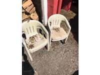 Free children's garden chairs