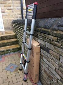 Brand New Spear & Jackson 3.8m Telescopic Ladder Mk II Combination,Multipurpose,Extendable Ladder