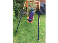 Baby/toddler garden swing