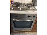 Gas job and oven