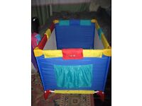 Second hand Bebe Travel Cot