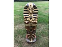 Tutankhamen sarcophagus cd / storage unit