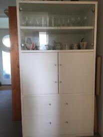 Ikea painted display/storagecabinet