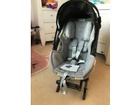 Orbit baby rotating car seat and isofix base