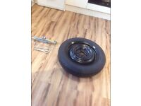 Juke spare wheel kit never used buyer uplifts