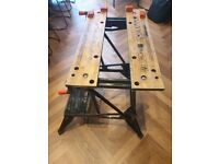 Black&Decker Workmate 550 Dual Height Workbench with Vertical Clamping