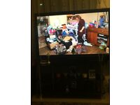 "Panasonic 49"" flat screen tv"