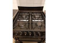 Cannon gas cooker with electric ovens and grill