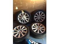 4 brand new Volvo XC90 wheels and tyres (20inch)