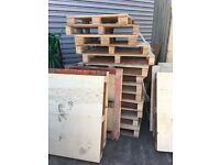 Fire Wood / Old pallets - Free - Collection Only - West London