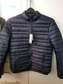 Feather quilted jacket