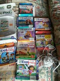Leappad 2 with games and 2 x charger packs