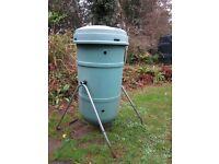 LARGE CAPACITY TUMBLING / TUMBLER AEROBIC COMPOST BIN / COMPOSTER BY BLACKWALL