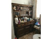 Old Charm oak furniture various