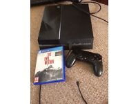 PS4 console and bulid in games