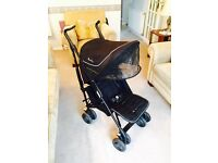 SILVER CROSS VOGUE PUSH CHAIR + EXTRAS - GREAT CONDITION