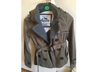 XXS ladies Superdry jacket - like new (fits girl age 10 - 12)