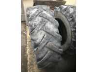 BKT Lodall Tyres - 15.5 X 80 X 24, 50 percent tred remaining good condition £80 each no vat
